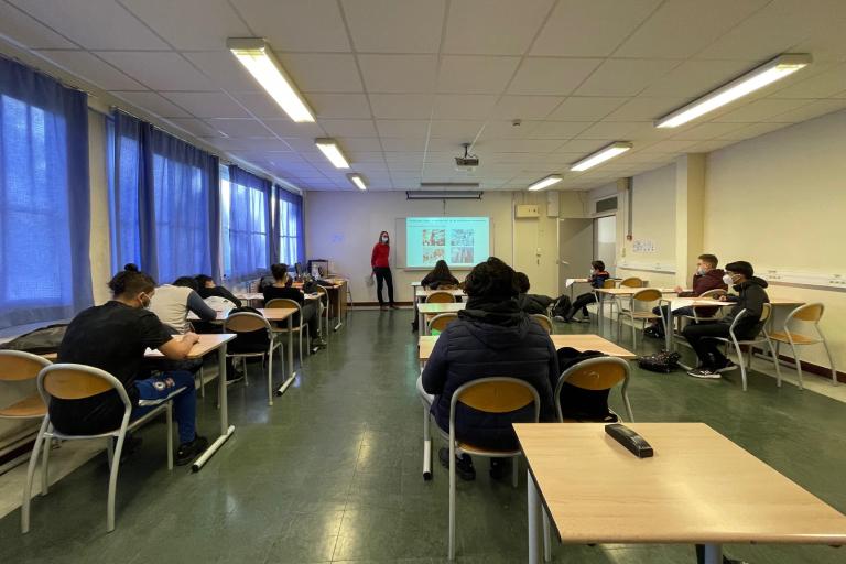 Atelier collège Manet