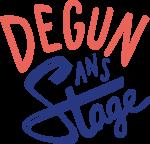 Logo Dégun sans stage
